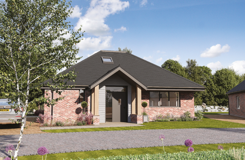 Front elevation of The Colne teaser