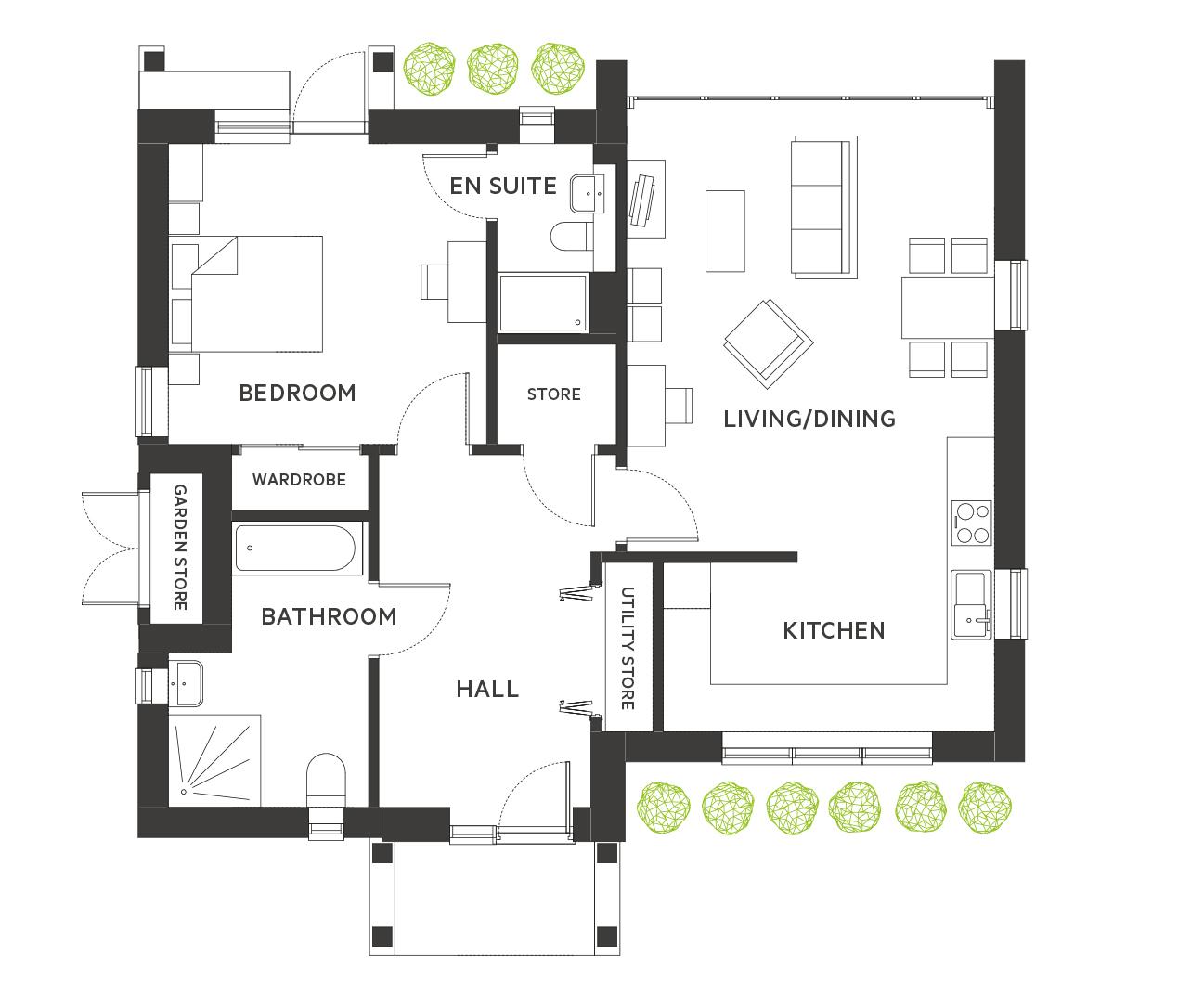 The Colne Floorplan