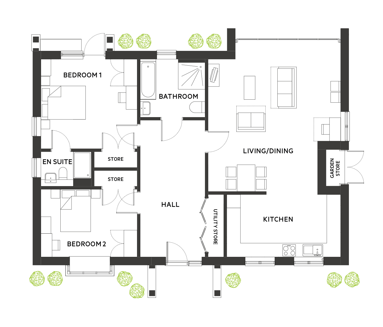 The Crouch Floorplan